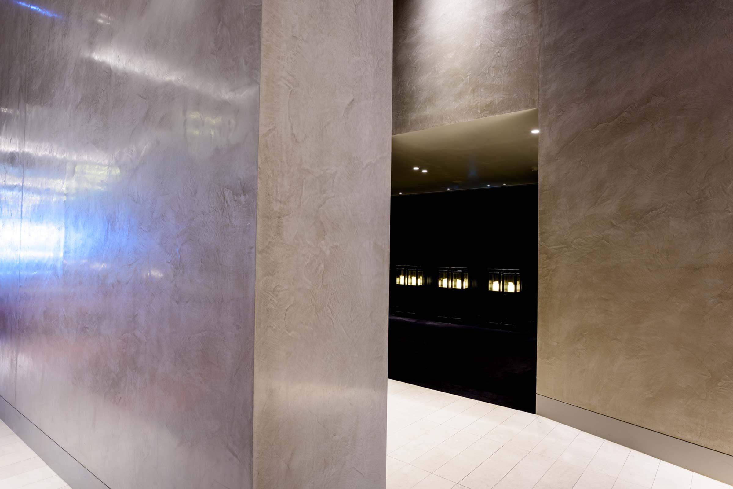 Dulux Venetian Plaster Crown Towers Perth Marmorino Naturale 03