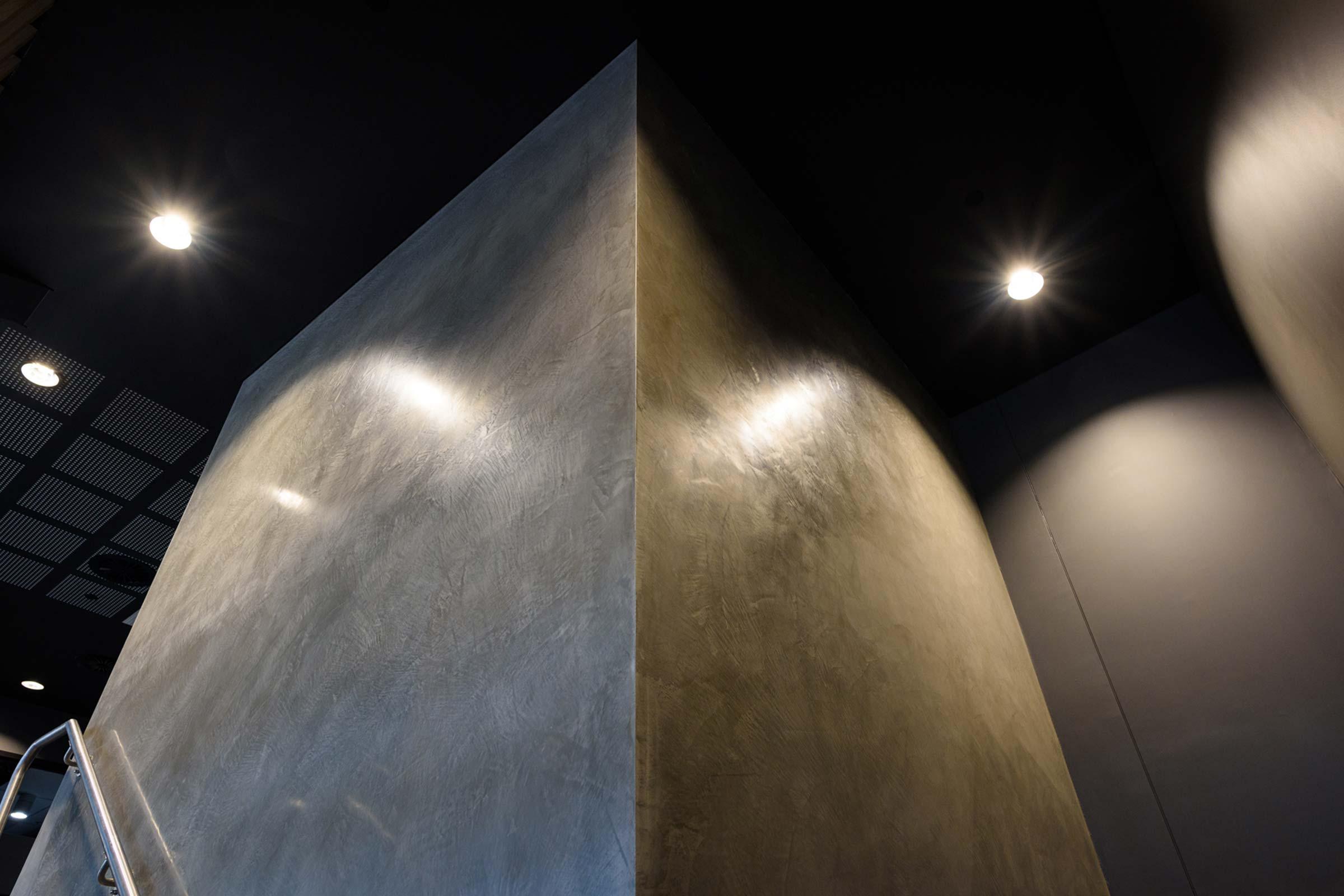 Dulux Venetian Plaster Perth Stadium 06 Marmorino Feature Walls