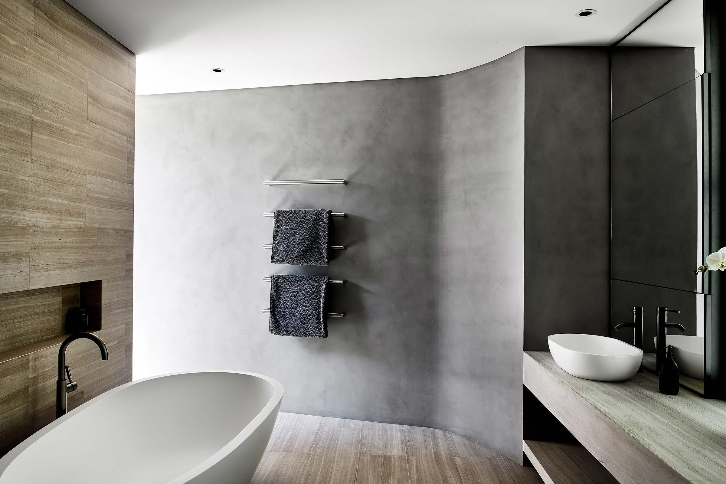 Venetian Plaster 05 Feature Bathroom