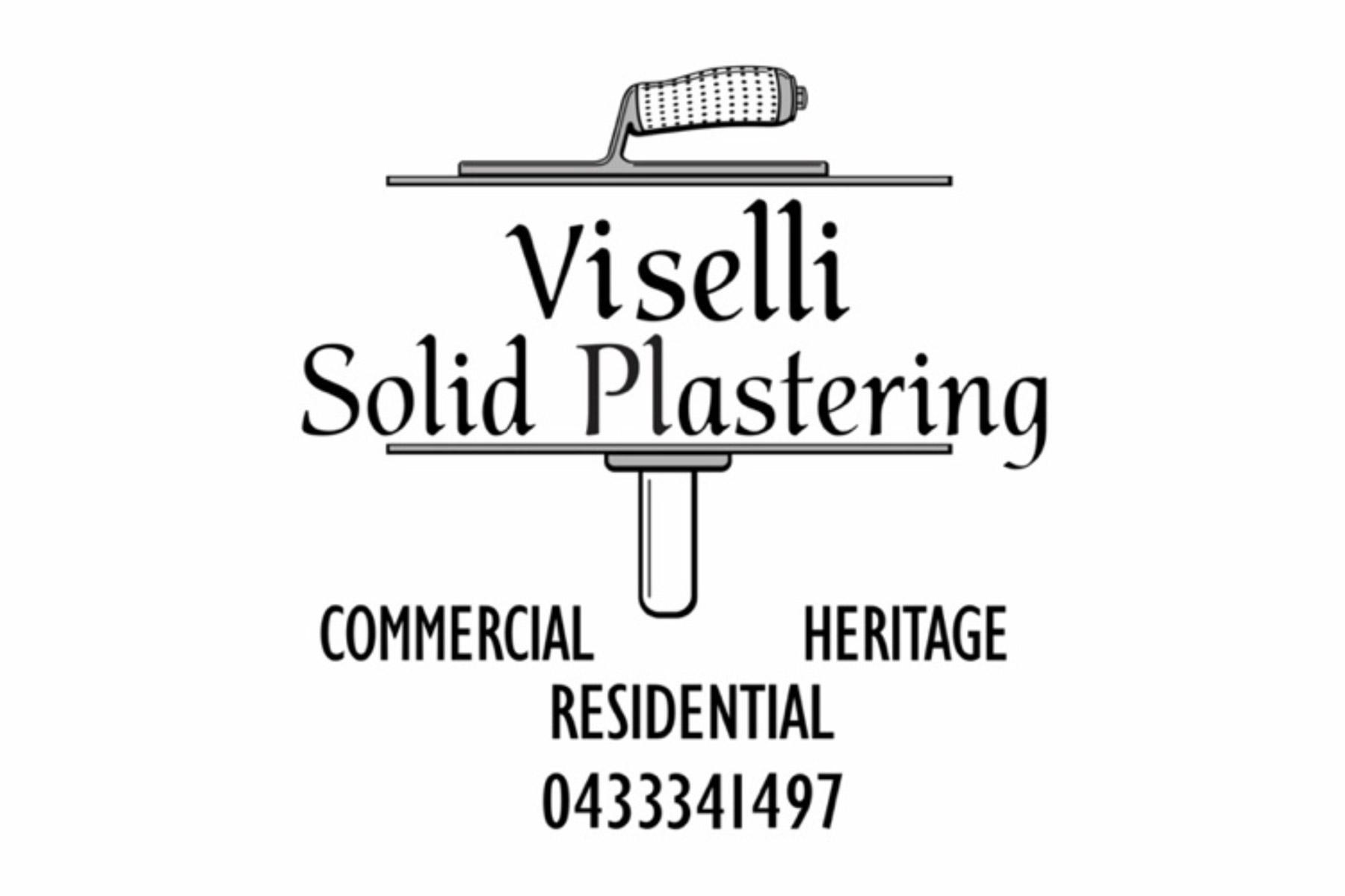 Viselli Solid Plastering Logo